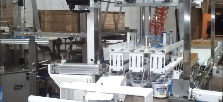 оборудование для укладки стаканчиков